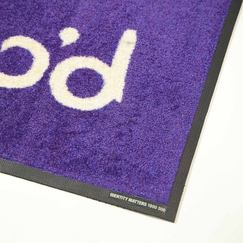 Print Plush Logo Mats No. 515
