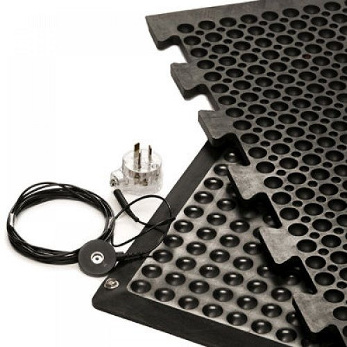 Modular Antistatic & Conductive Anti-Fatigue Mats/Runner