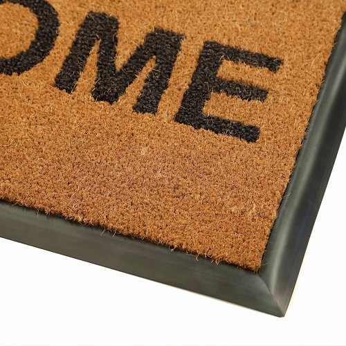 Coir Inlay Logo Mat 680