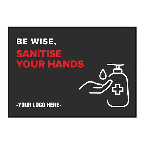 Sanitise Your Hands Mats