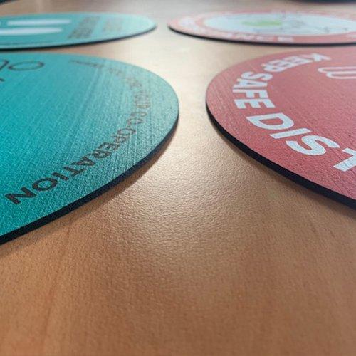 Reusable Rubber Discs